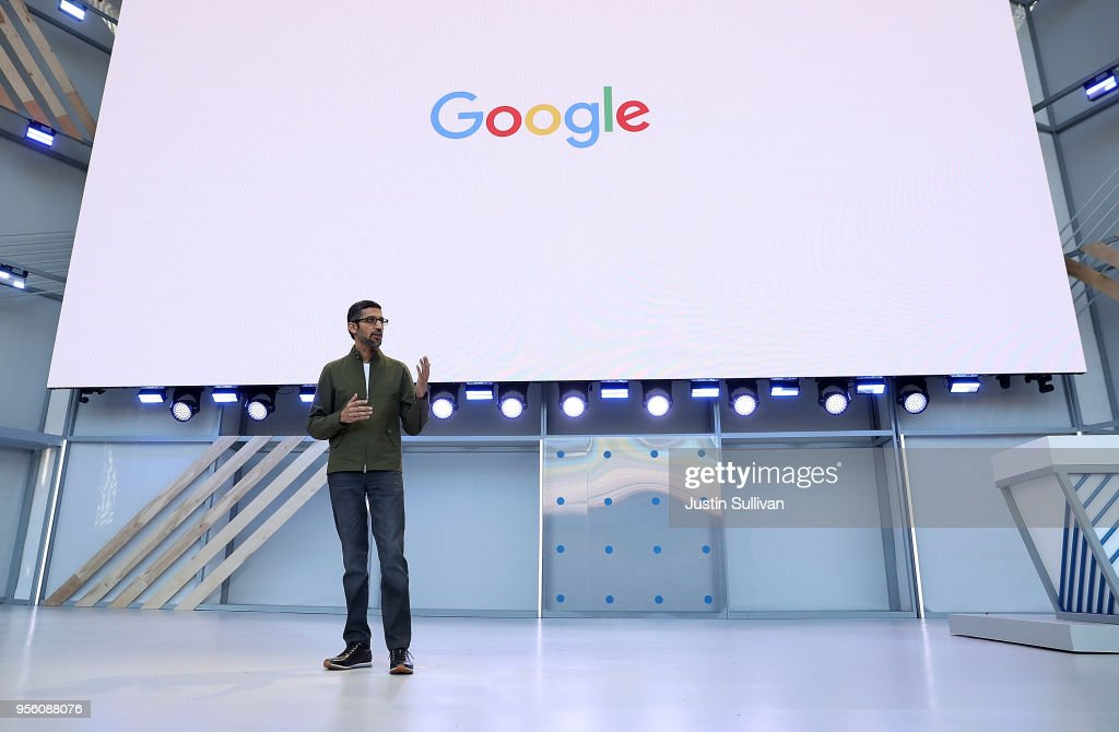 Google Hosts Its Annual I/O Developers Conference : News Photo