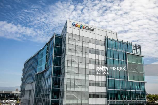 Google Cloud Buildings in Silicon Valley