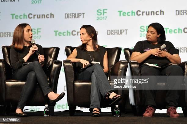 Google Cloud Head of Startup Programs Sam O'Keefe Capital Partner Jenny Lefcourt and Backstage Capital Founder and Managing Partner Arian Hamilton...
