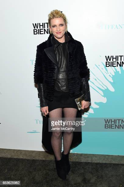 Google CMO Hilary Neve attends the Tiffany Co presents Whitney Biennial VIP Opening Night at The Whitney Museum of American Art on March 15 2017 in...
