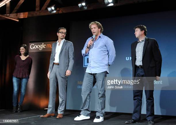 Google Director of Content Partnerships Android Zahavah Levin EMI Music EVP Global Business Developement Mark Piibe Universal Music Group President...