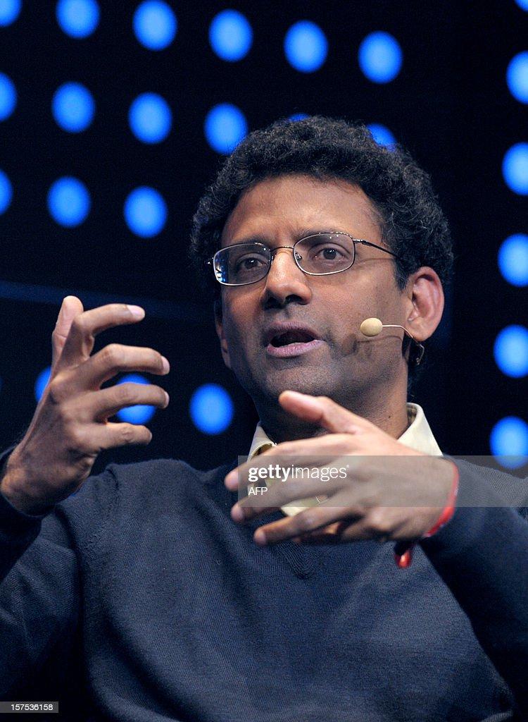 Google engineer Ben Gomes, talks during the opening session of LeWeb12 on December 4, 2012 in Saint-Denis, near Paris.