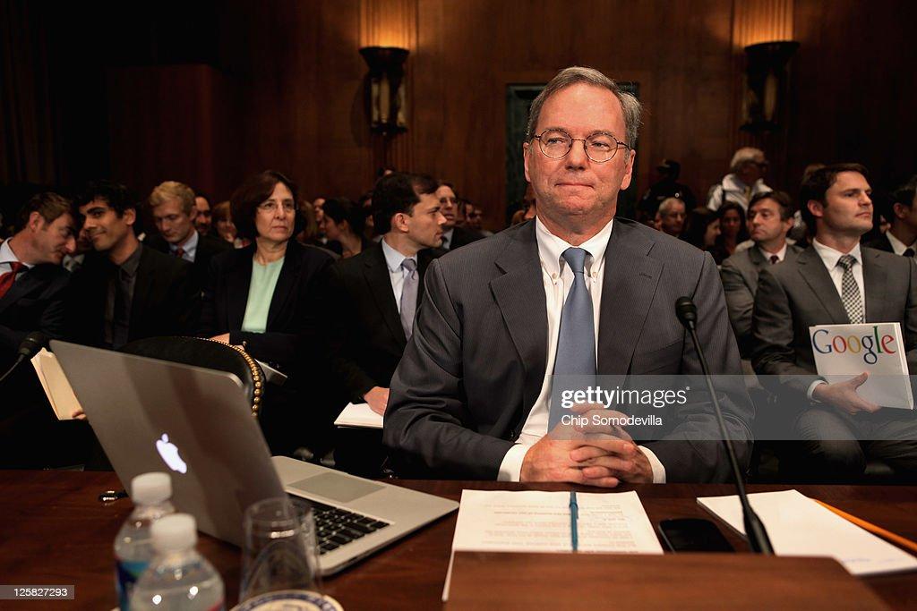 Google CEO Testifies At Senate Hearing On Antitrust Policy : News Photo