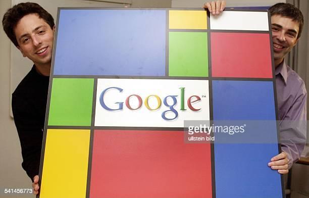 Google - Gründer und Präsident, Russland / USAmit seinem Partner Larry Page