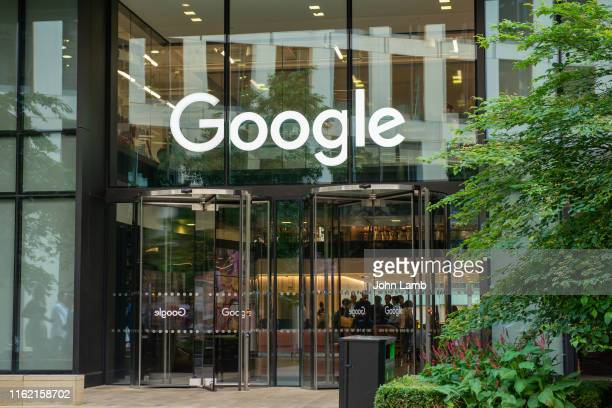 google headquarters building at pancras square, king's cross, london, england. - headquarters stock pictures, royalty-free photos & images