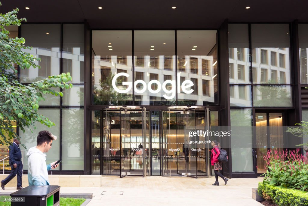 Google headquarters in London : Stock Photo