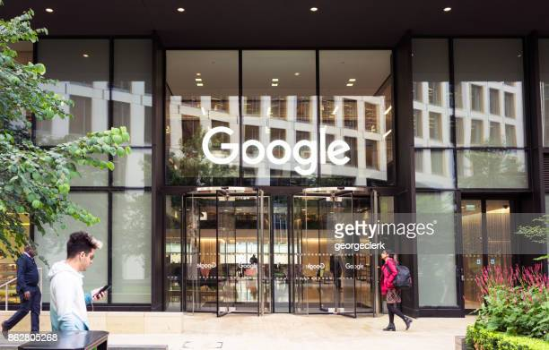 google headquarters in london - google stock pictures, royalty-free photos & images