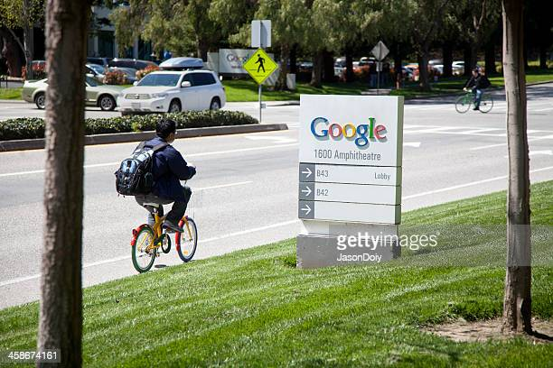 google headquarters - mountain view california stock pictures, royalty-free photos & images