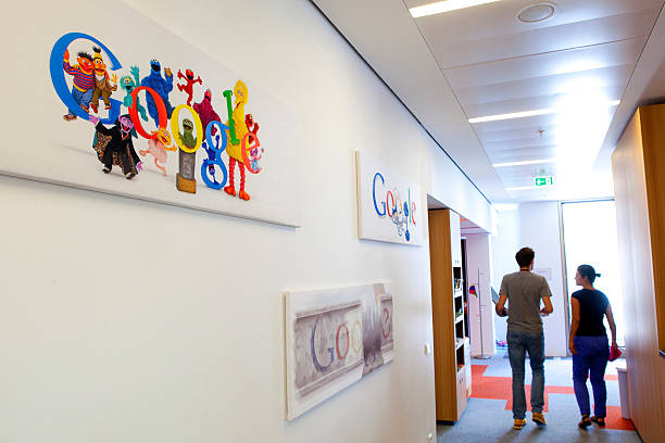 inside google inc 39 s berlin campus photos and images getty images. Black Bedroom Furniture Sets. Home Design Ideas