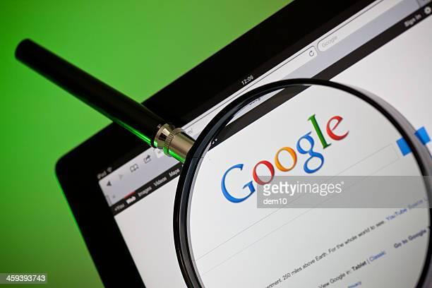 búsqueda internet sitio web de google - google marca comercial fotografías e imágenes de stock