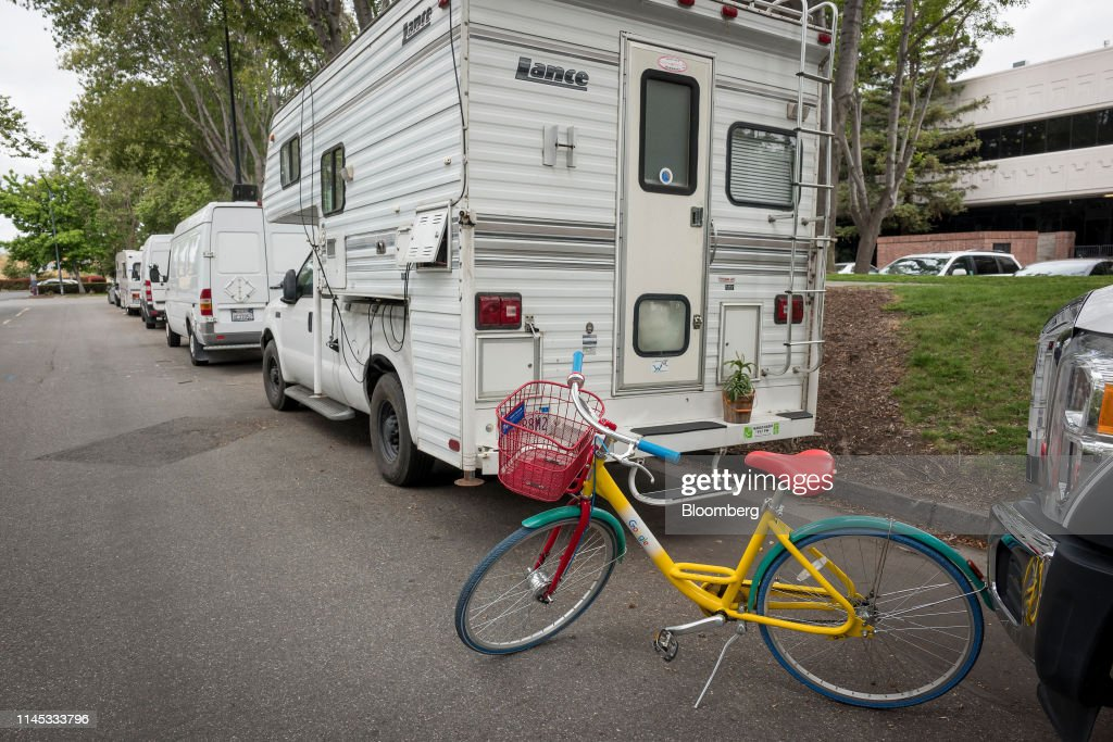 CA: RV Living Becomes A Desperate Act In Google's Backyard