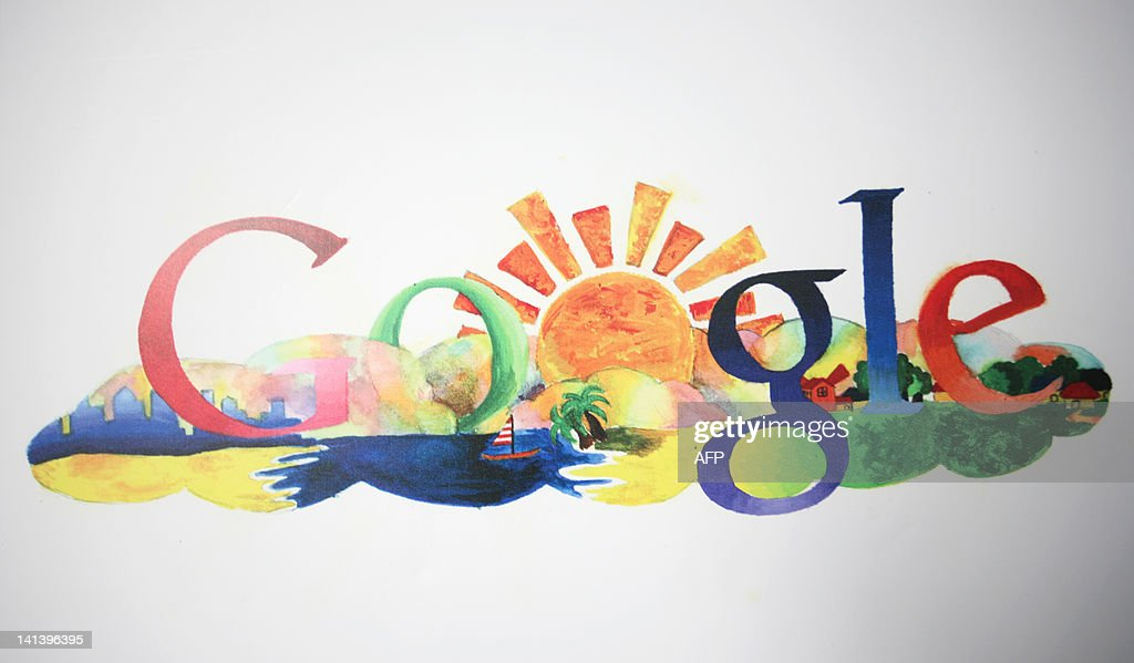 Google logos created by children are dis : News Photo