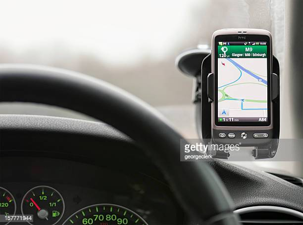 Google Maps Navigation In Use