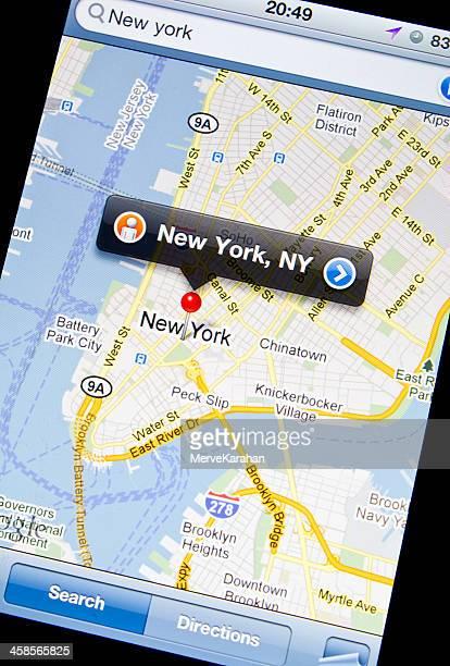 Google Maps on Iphone 4