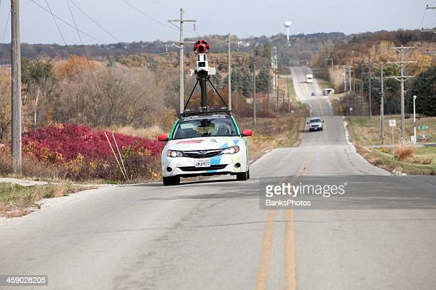 google maps street view car - google car stock pictures, royalty-free photos & images
