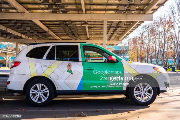 Google Maps Street View car seen at Google campus.
