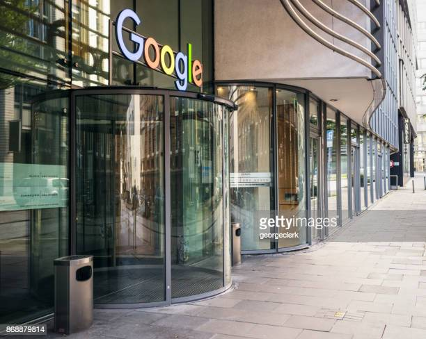 google office in hamburg, germany - google stock photos and pictures