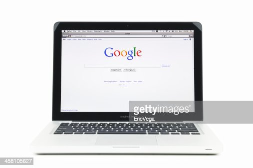 Google Search Engine Home Page On Macbook Pro High-Res ...