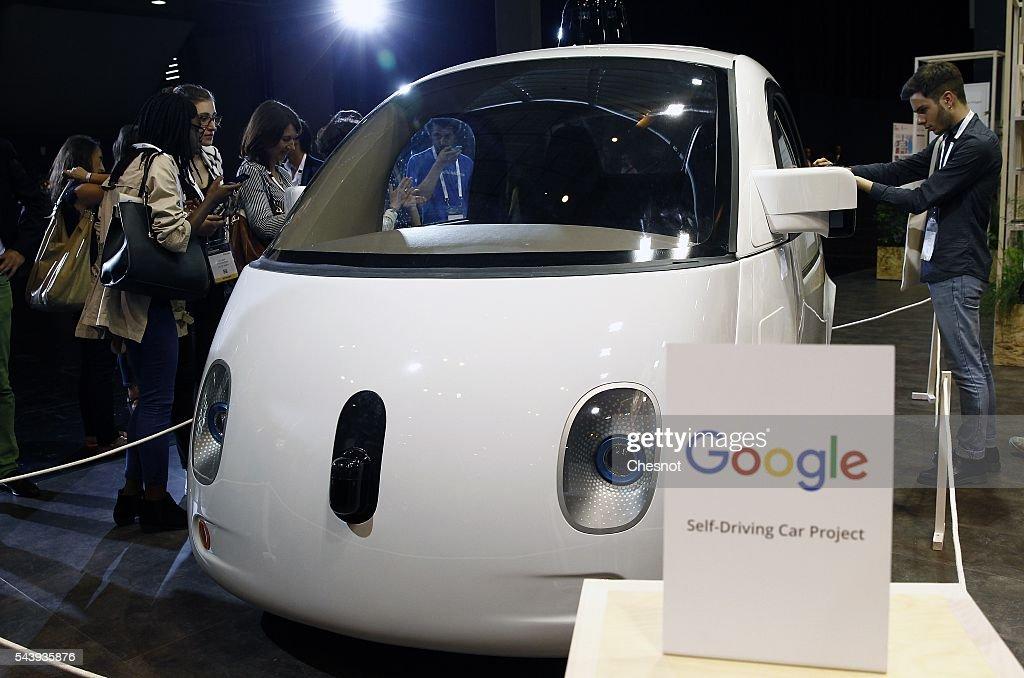 Salon Viva Technology, Startup connect au Parc des expositions de la Porte de Versailles : News Photo