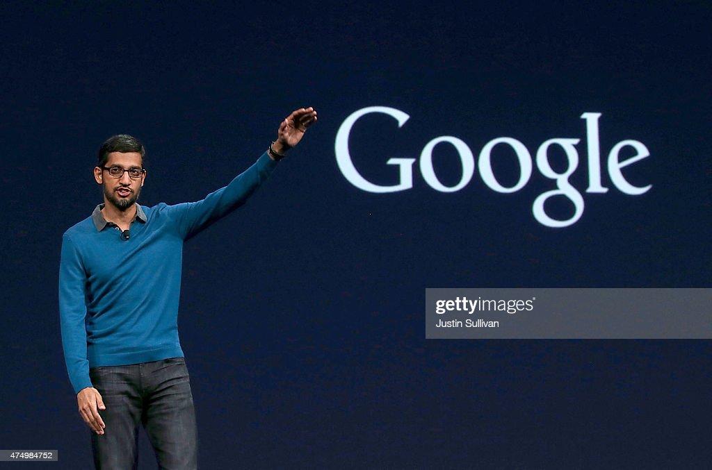 Google Hosts Its I/O Developers Conference : News Photo