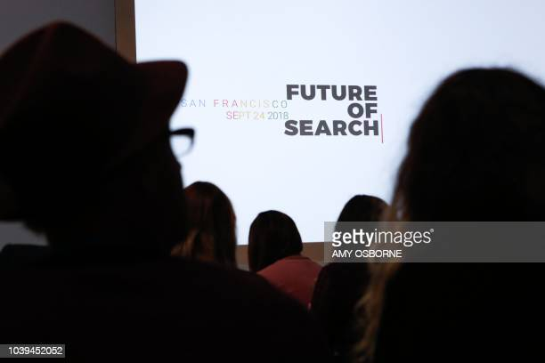 Google unveils its new search features including activity card smart video and Google Lens at the Google Search 20th Anniversary Event on September...