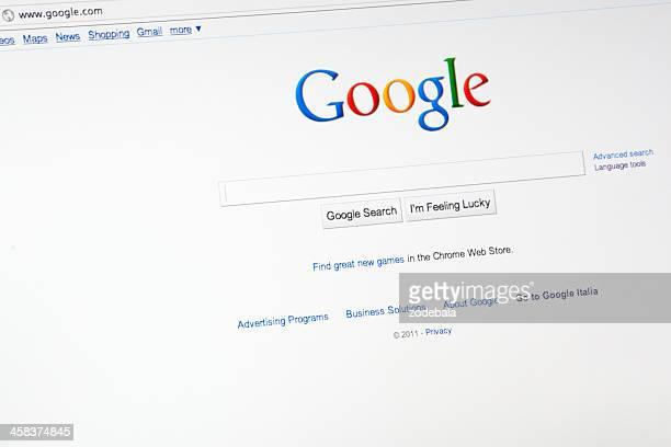 Google.com motor de búsqueda