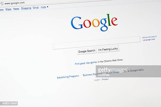 Google.com Search Engine