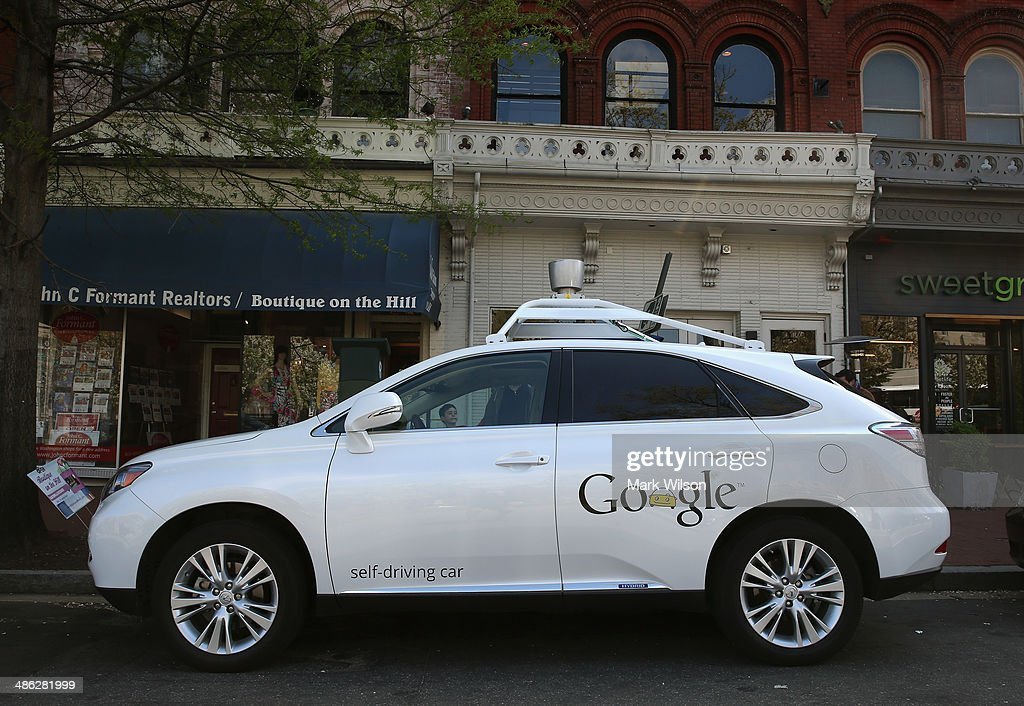 Google Self-Driving Car : News Photo