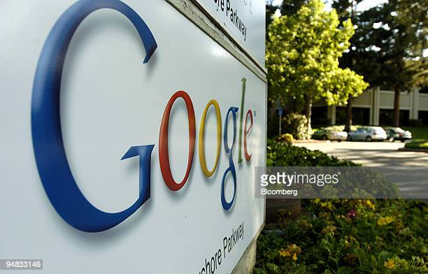 Google's Mountain View California offices are pictured on Thursday April 29 2004 Google Inc the world's mostused Internet search engine filed to...