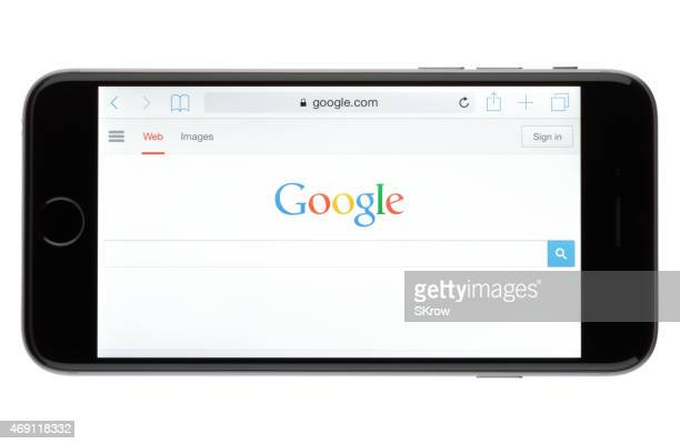 Googling on an Apple iPhone 6