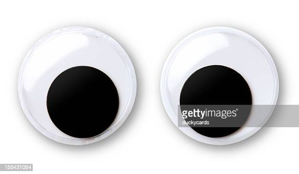 googly eyes - googly eyes stock pictures, royalty-free photos & images