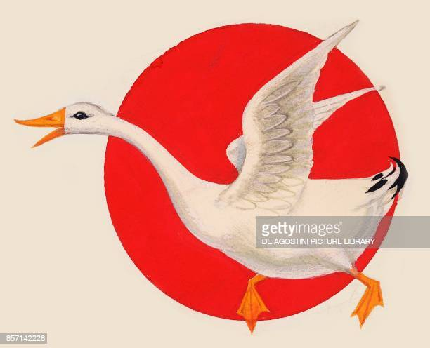 Goose drawing