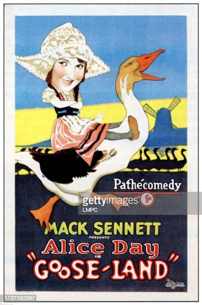 Gooseland poster Alice Day 1926