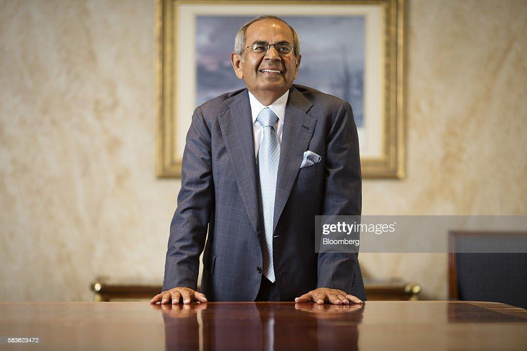 Gopichand Hinduja, billionaire and co-chairman of the Hinduja Group