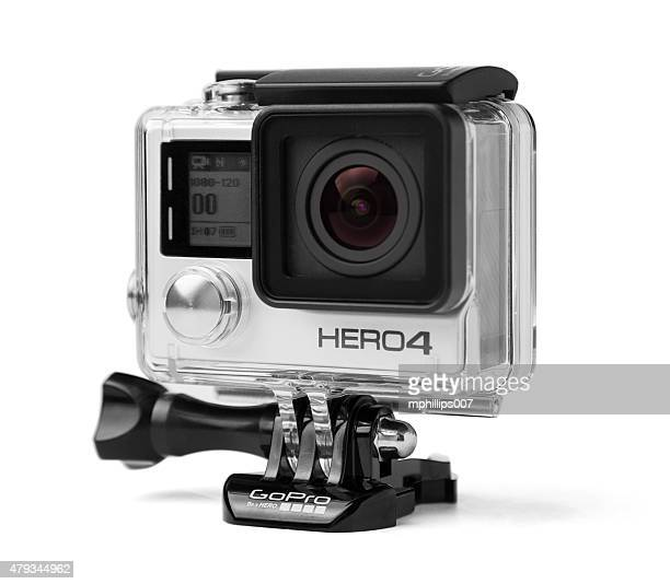 gopro hero 4 black edition - 4k resolution stock pictures, royalty-free photos & images