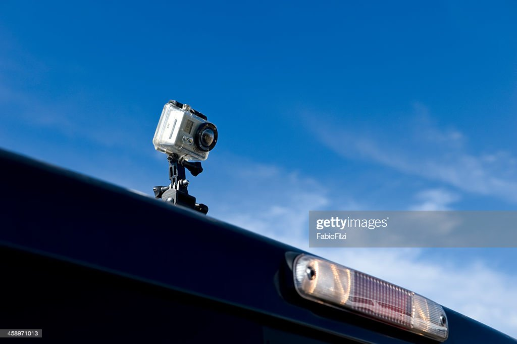GoPro HERO hd video camera : Stock Photo