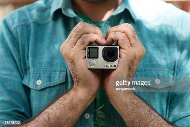 Gopro hero4 acção câmara