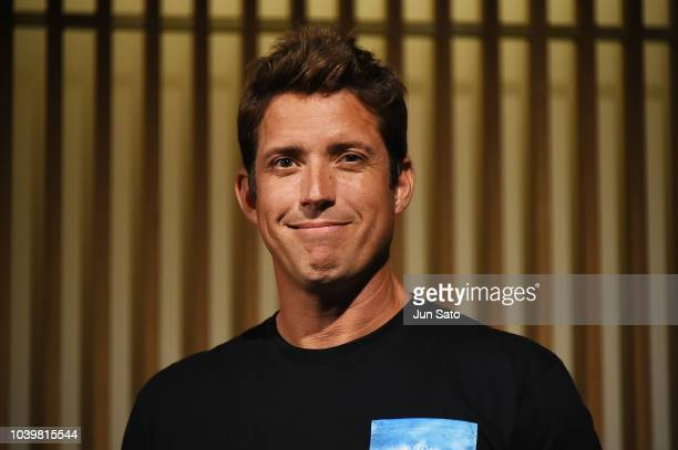 GoPro Inc Founder/Ceo Nick Woodman attends the press conference for GoPro HERO7 Black on September 25 2018 in Tokyo Japan
