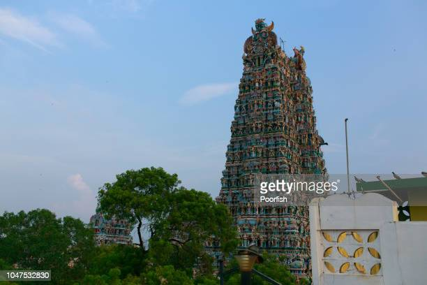 Gopuram of Meenakshi Temple