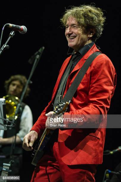 Goran Bregovic of Goran Bregovic Bijelo Dugme performs at The Eventim Apollo on February 23 2017 in London United Kingdom