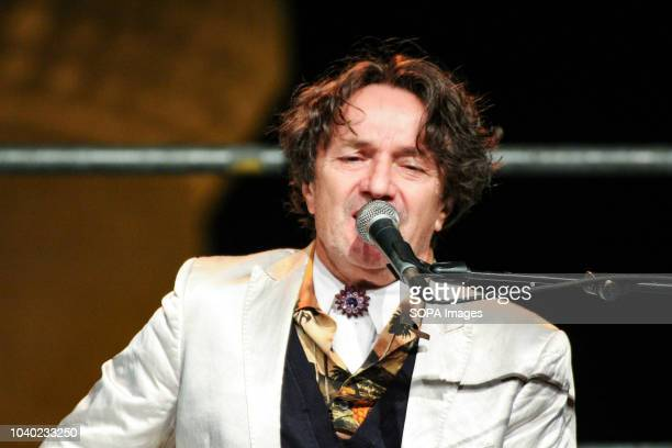 Goran Bregovic seen performing during one of his concerts in Matera Goran bregovic in concert in matera at the suggestive scenery of the Tramontano...