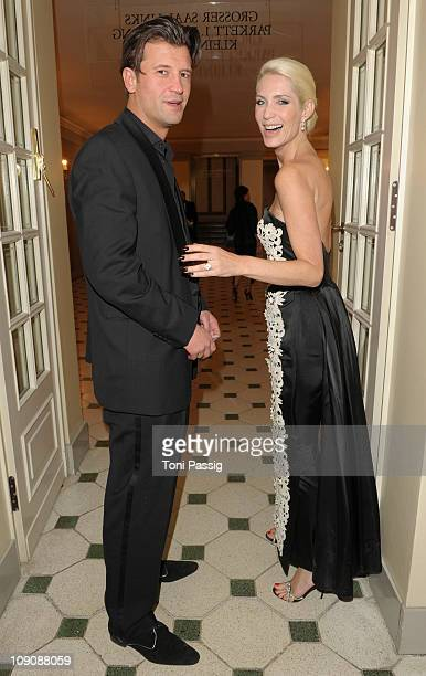 Goran Munizaba and Sarah Kern attend the Cinema for Peace Gala at the Konzerthaus am Gendarmenmarkt during day five of the 61st Berlin International...