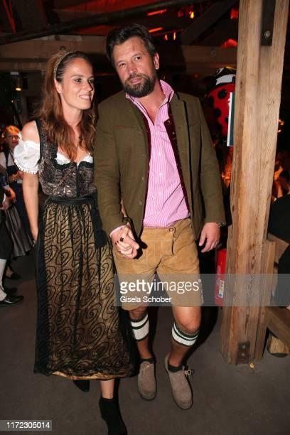 Goran Munizaba Ex husband of Sarah Kern during the Oktoberfest 2019 at Kaeferschaenke beer tent / Theresienwiese on September 29 2019 in Munich...