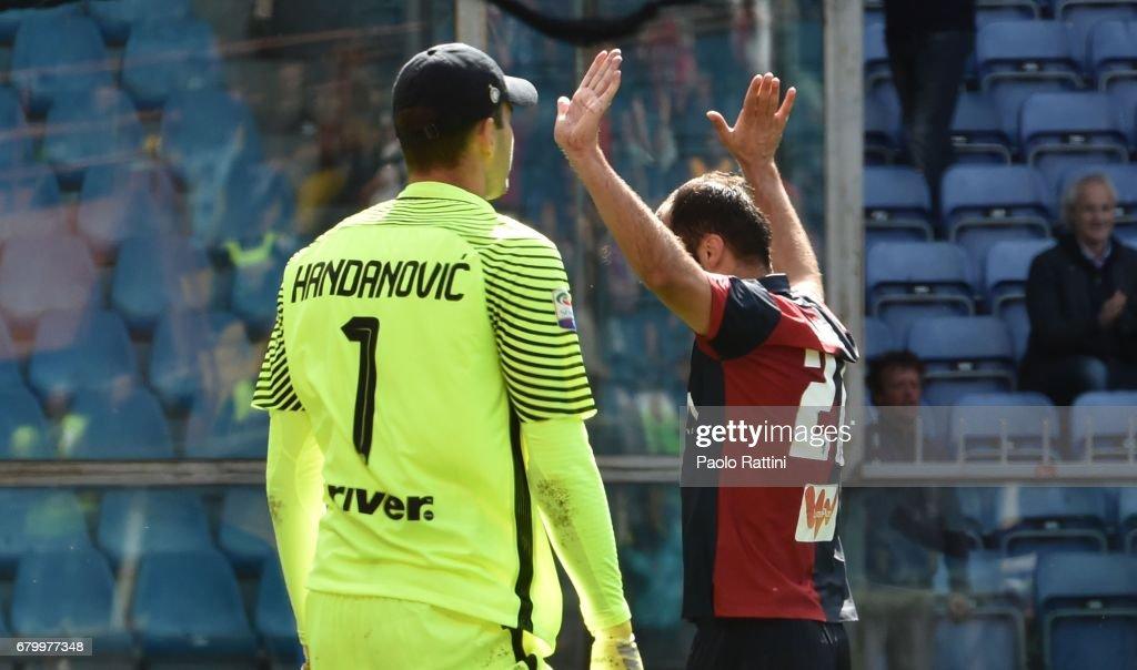 Genoa CFC v FC Internazionale - Serie A : News Photo