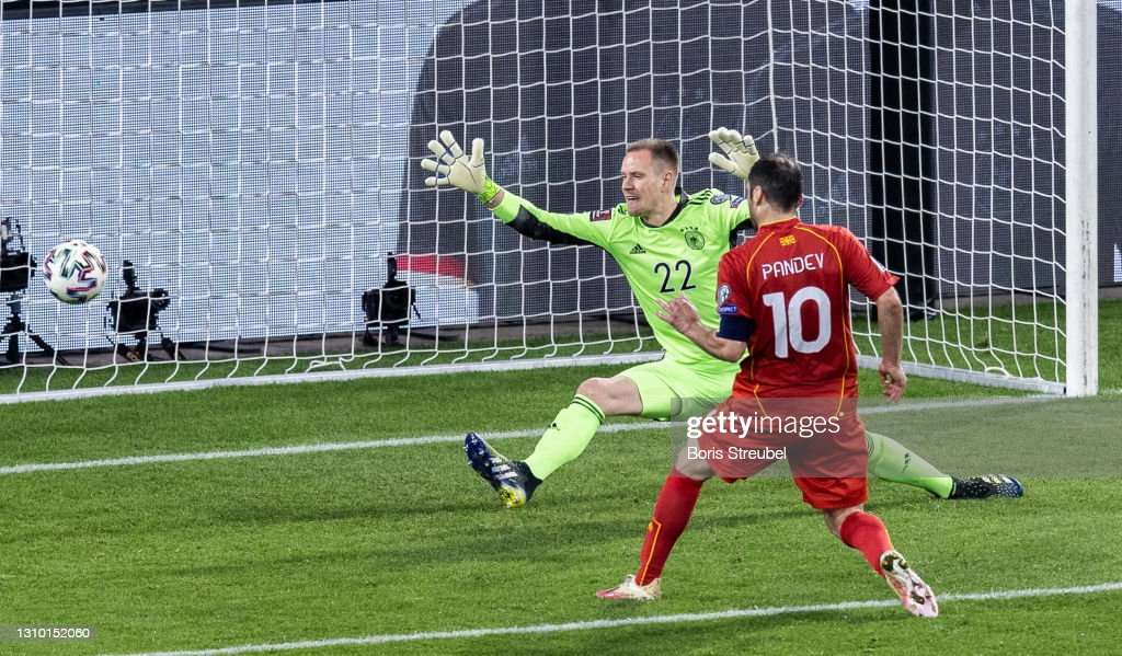 Germany v North Macedonia - FIFA World Cup 2022 Qatar Qualifier : ニュース写真