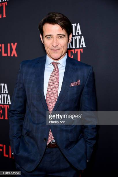 Goran Visnjic attends Netflix's Santa Clarita Diet Season 3 Premiere at Hollywood Post 43 on March 28 2019 in Los Angeles California