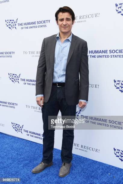 Goran Visnjic attends The Humane Society Of The United States' To The Rescue Los Angeles Gala at Paramount Studios on April 21 2018 in Los Angeles...
