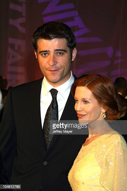 Goran Visnjic during 2002 Vanity Fair Oscar Party Hosted by Graydon Carter Arrivals at Morton's Restaurant in Beverly Hills California United States