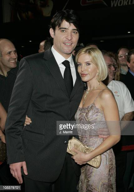 Goran Visnjic during Elektra World Premiere Arrivals at The Palms Hotel and Casino in Las Vegas Nevada United States