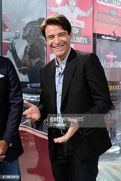 Goran Visnjic visits Extra at their New York studios at HM in Times Square on October 10 2016 in New York City